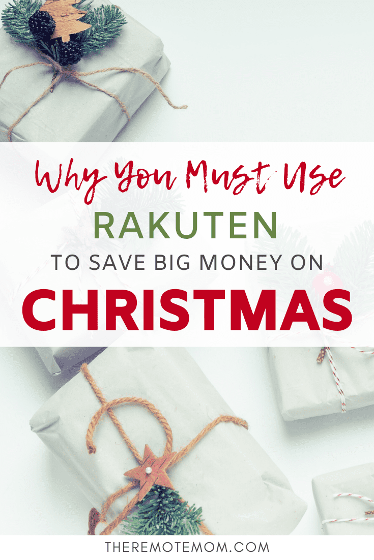 Why You Must Use Rakuten to Save Big Money on Christmas