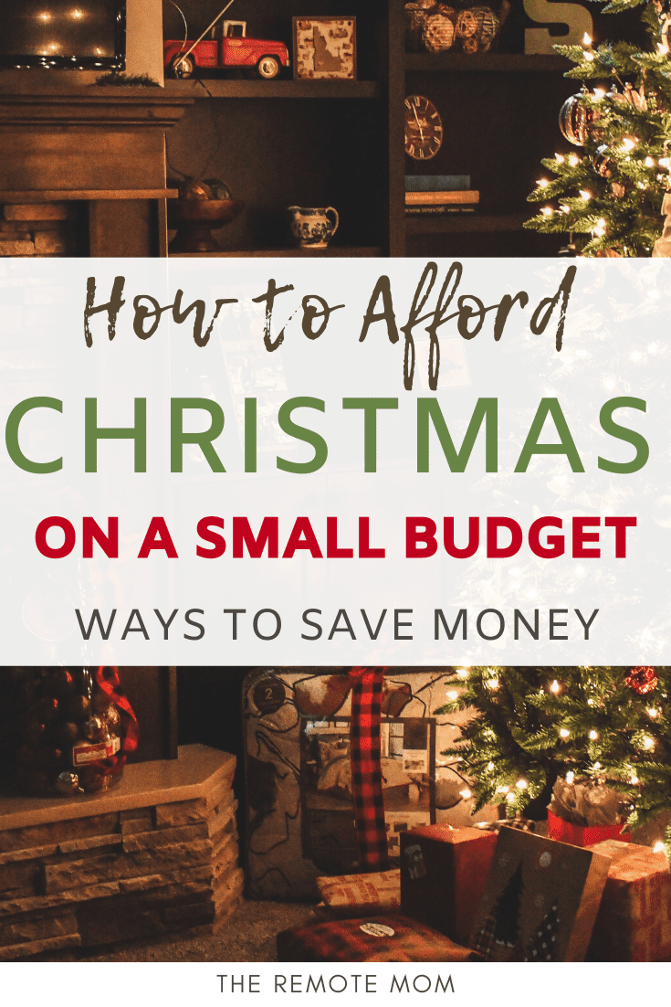 How to Afford Christmas on a Small Budget