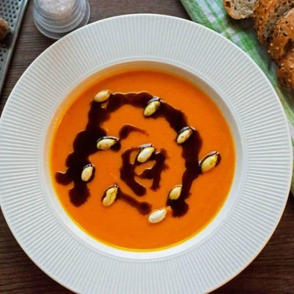cheap and easy pumpkin soup for autumn
